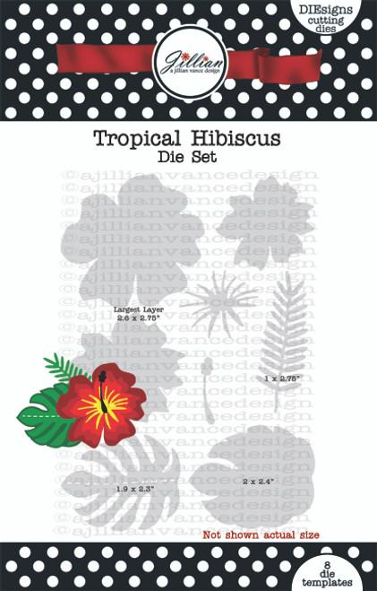 Tropical Hibiscus Die Set