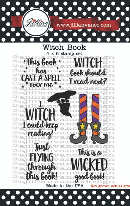 Witch Book Stamp Set