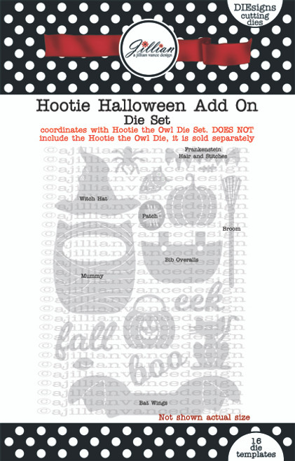 Hootie Halloween Add On Die Set