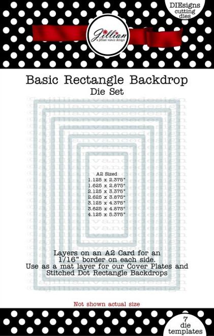 Basic Rectangle Backdrop Die Set