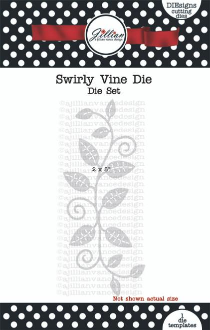 Swirly Vine Die