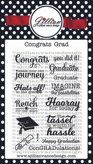 Congrats Grad Stamp Set
