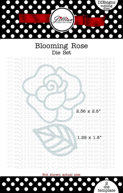 Blooming Rose Die Set