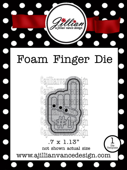 Foam Finger Mini Die