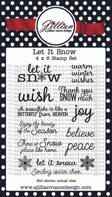 Let it Snow Stamp Set