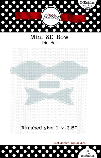 Mini 3D Bow Die Set