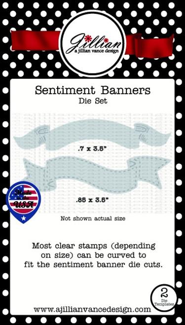Sentiment Banners Die Set