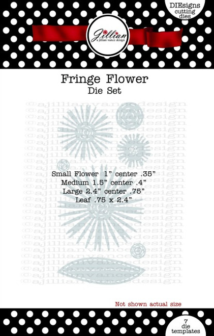 Fringe Flower Die Set