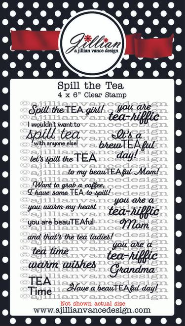 Spill the Tea Stamp Set