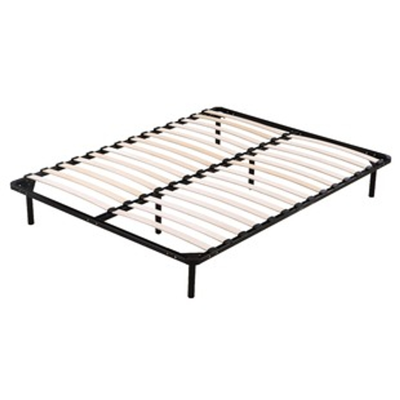 - Queen Folding Metal Bed Frame Storage Platform Mattress Base