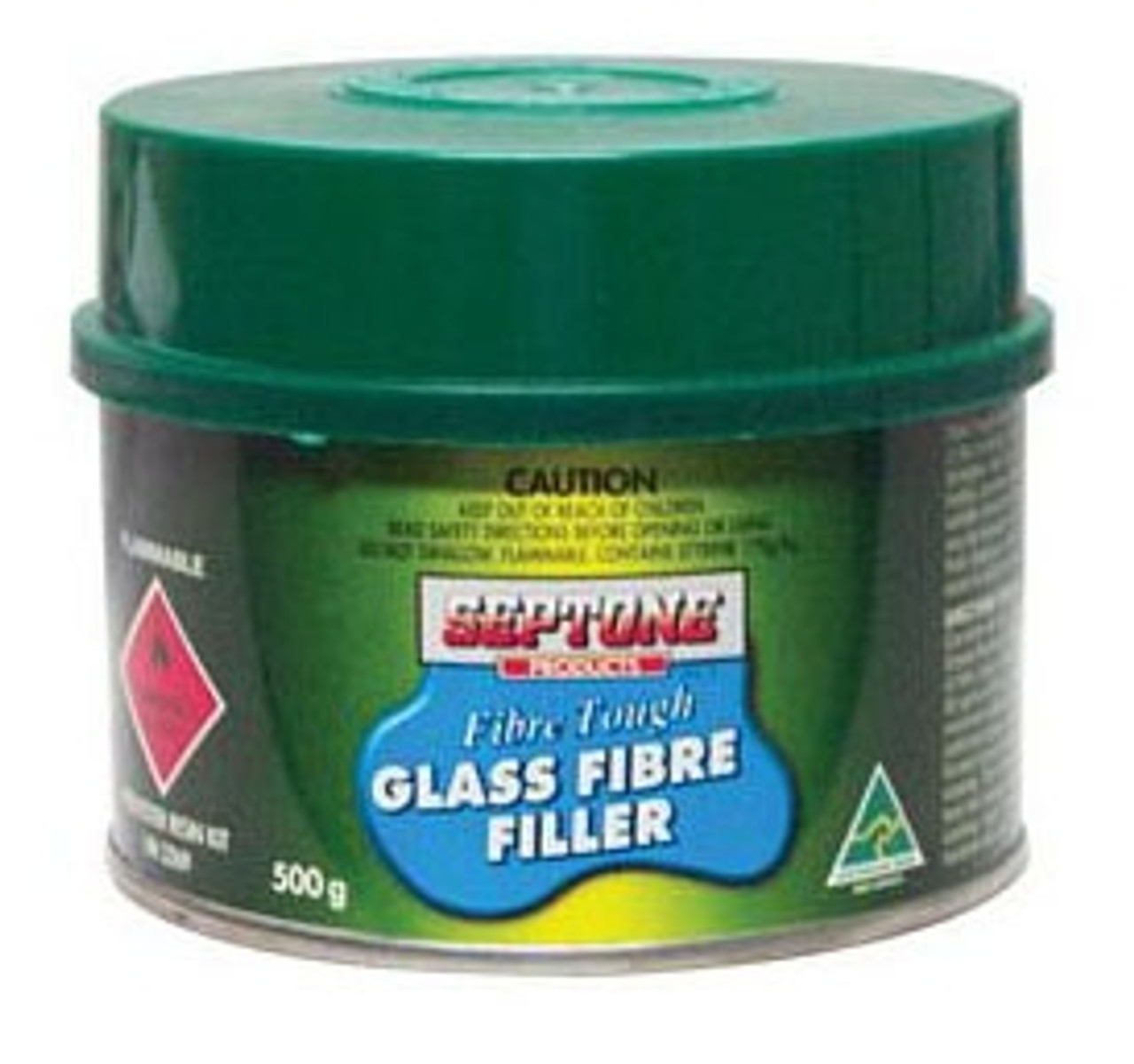 Septone Glass Fibre Filler Polyester Putty