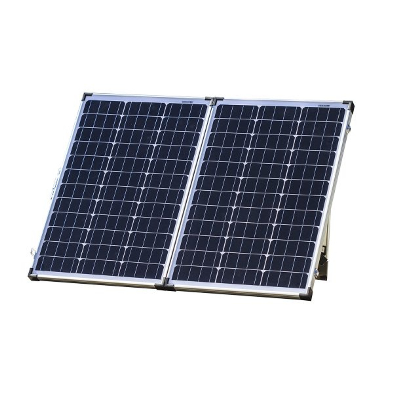 120w Folding Solar Panel Kit Boating Rv