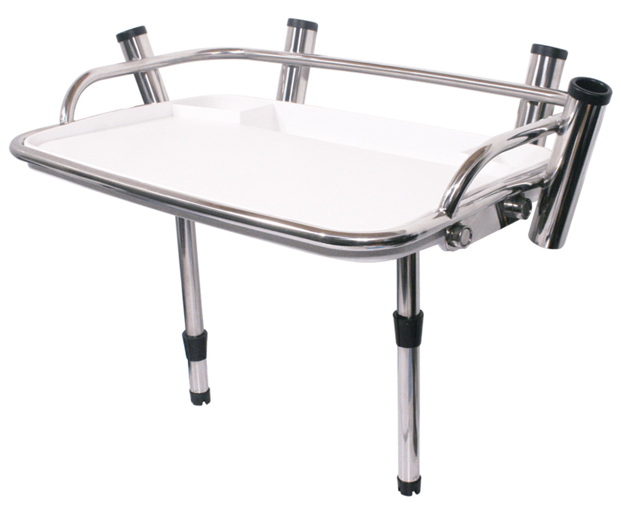 AXIS Stainless Bait Board with Rod Holders