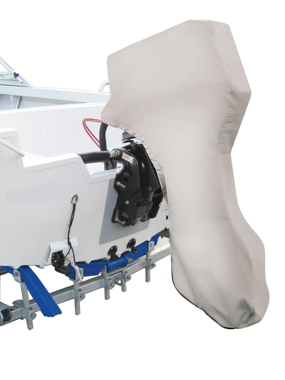 8 TO 15HP HIGH QUALITY FULL OUTBOARD ENGINE COVER FOR STORAGE AND TRAILERING