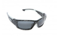 Barz Optics: Floater Polarised Sunglasses. Grey / Carbon Fibre