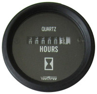 Engine Hourmeter Black