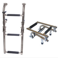 Mini Stainless Steel 3 Step Ladder