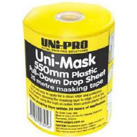 UNi-PRO Uni-Mask Drop Sheet With Dispenser