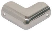 End Cap Chrome Corner 34mm