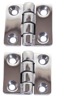 Cast Stainless Steel Hinge 38 x 28