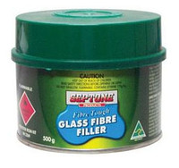 Septone Glass Fibre Filler Polyester Putty - 500G