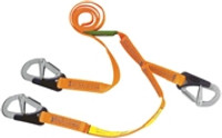 Burke Safety Line (3 Hook) For Harness