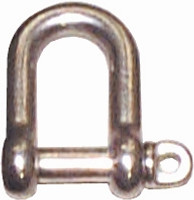 Stainless Dee Shackle