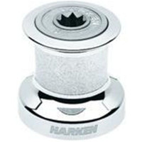 Harken  Chrome Bronze Plain-Top Winch