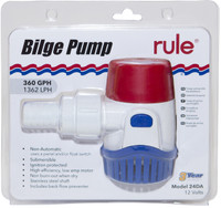 Rule 360gph Bilge Pump Packaged
