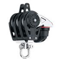 HARKEN HK2648 40 mm Triple Block åÑ Swivel, Becket, Cam Cleat