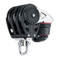 HARKEN HK2617 57 mm Triple Block åÑ Swivel, Cam Cleat