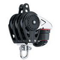 HARKEN HK2618 57 mm Triple Block åÑ Swivel, Becket, Cam Cleat