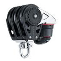 HARKEN HK2668 75 mm Triple Block åÑ Swivel, Cam Cleat
