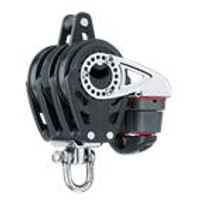 HARKEN HK2141 57 mm Triple Ratchet Block åÑ Swivel, Becket, Cam Cleat