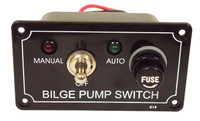 Bilge Pump 3 Way Switch Panel