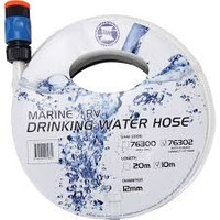 Drinking Water Hose 12mm X 10m Inl Fittings