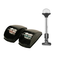 Navigation Lights Black Kit