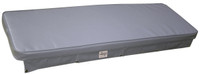 Axis Upholstered Boat Cushion - Grey 1200 x 400
