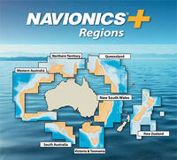 Navionics Plus Regions card