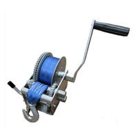 3 Speed Trailer Winch with Strap
