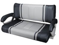 Double Flip Back Bench Seat