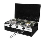Camper-Lido Deluxe Gas Stove/Grill