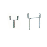 Roller Flat Brackets with Single or Double Stem