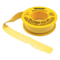 Gas Seal Thread Tape Yellow