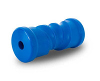 Blue Polypropylene Self Centre Keel Roller