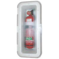 Fire Extinguisher Box Clear Lid 1kg