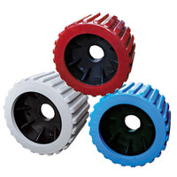 "3"" x 4"" Ribbed Wobble Rollers"