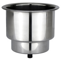Drink Holder Stainless Steel with Blue LED