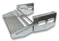 Single Pull-Out Step Galvanized Steel 530mm