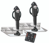Lenco Stainless Trim Tab Kit with LED Indicator Switch